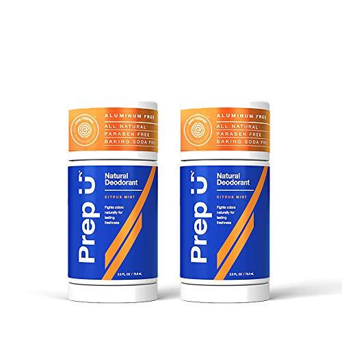 *Prep U – Aluminum Free All Natural Deodorant for Teens and Men