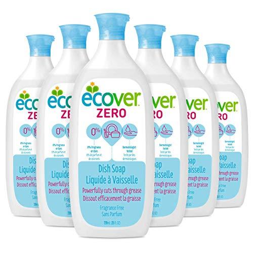 Ecover Zero Dish Soap, Fragrance Free