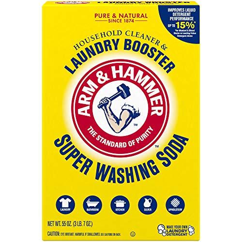 Arm & Hammer Super Washing Soda Detergent Booster & Household Cleaner