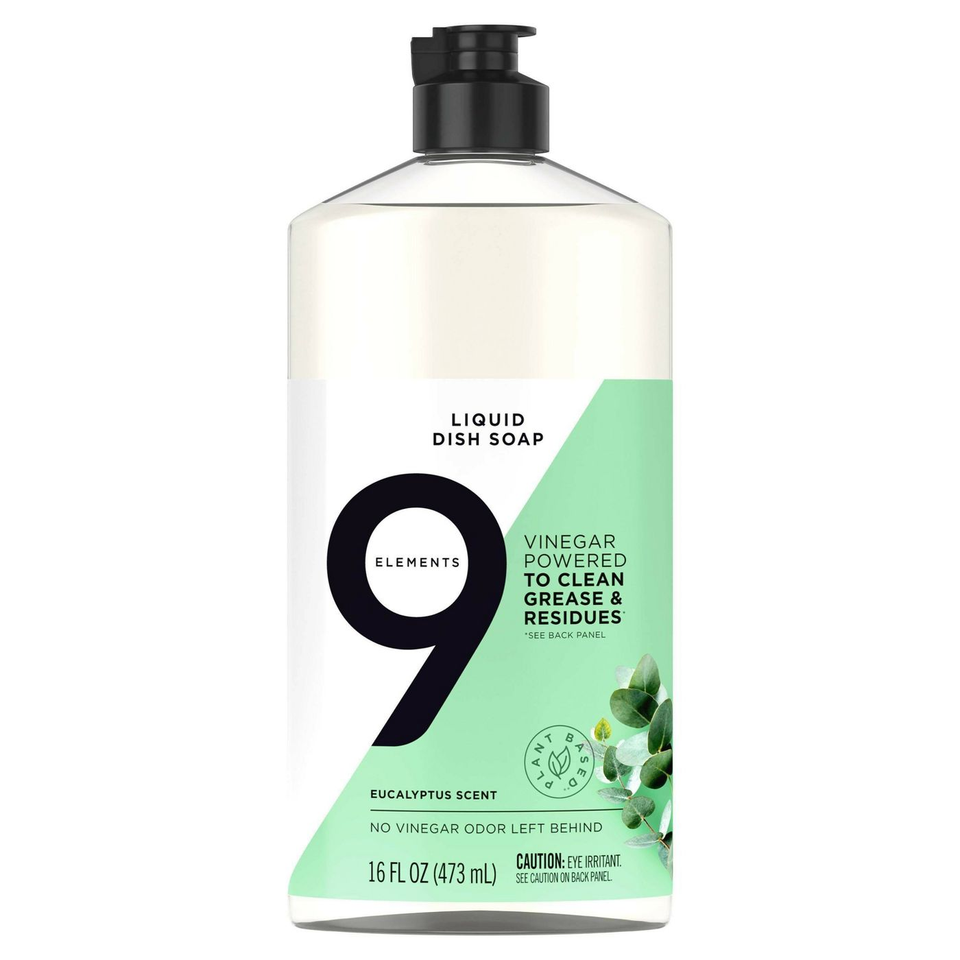 9 Elements Liquid Dish Soap – Eucalyptus