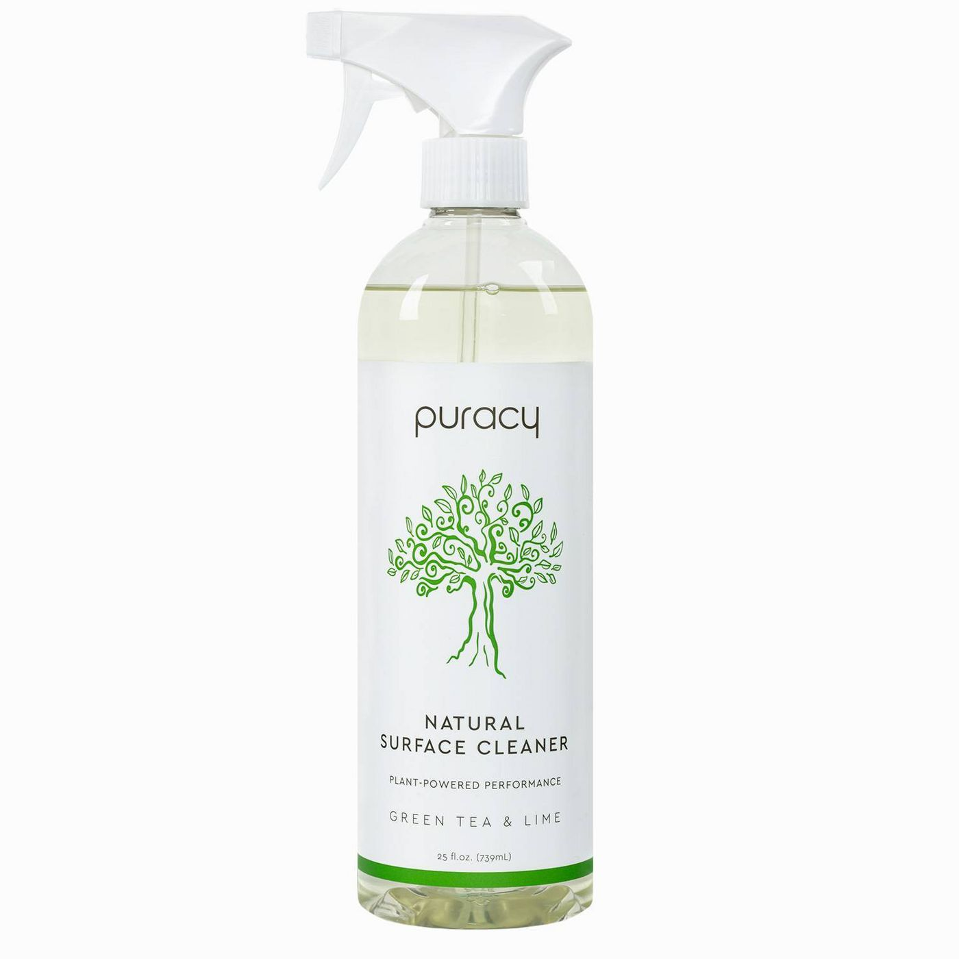 Puracy Natural Multi-Surface Cleaner, Green Tea & Lime