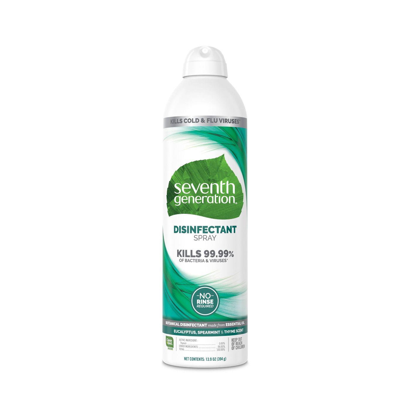 Seventh Generation Disinfectant Spray Eucalyptus & Spearmint