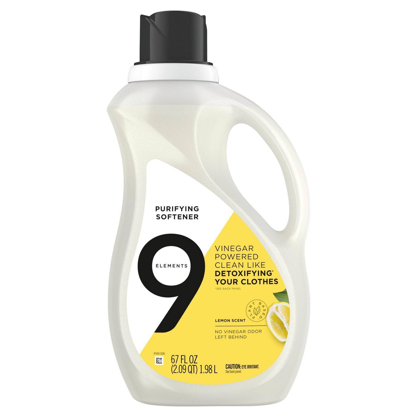 9 Elements Lemon Scent Liquid Purifying Softener