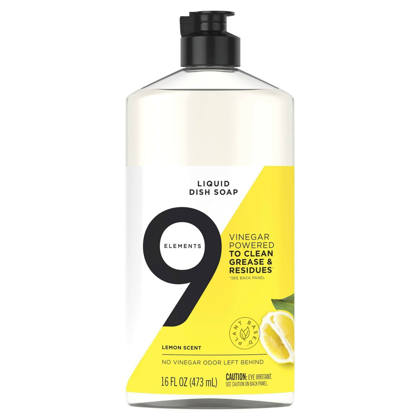 9 Elements Liquid Dish Soap – Lemon