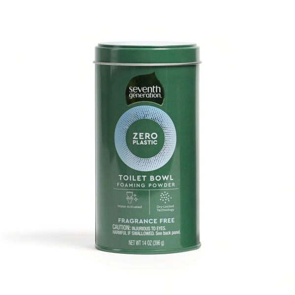 Seventh Generation – Zero Plastic Toilet Bowl Cleaner Powder