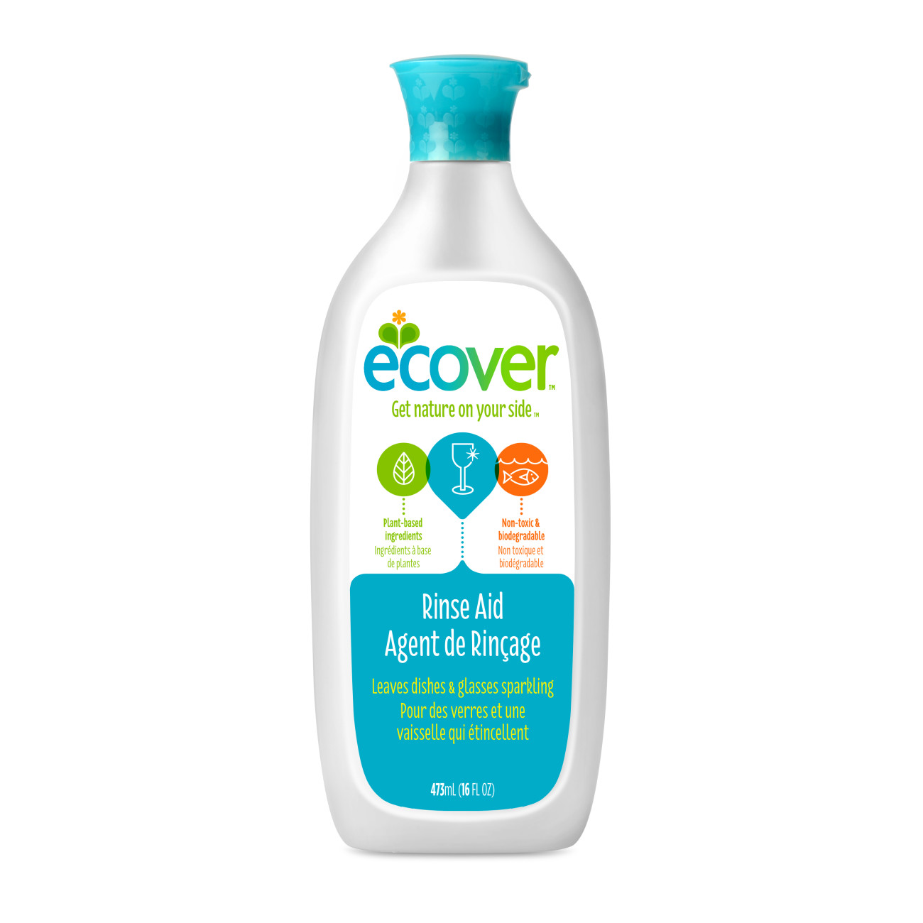Ecover Naturally Derived Rinse Aid for Dishwashers