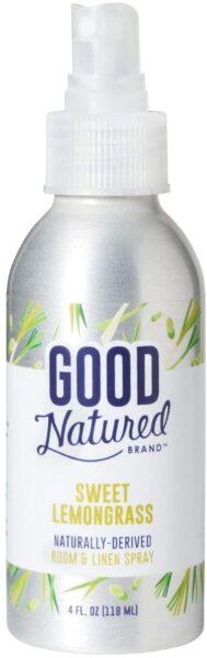 Good Natured Brand Room & Linen Spray, Sweet Lemongrass