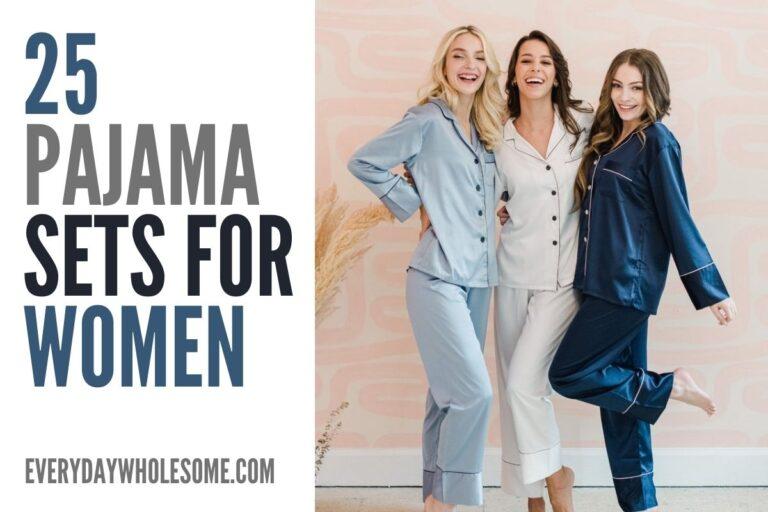 25 Pajama Sets for Women