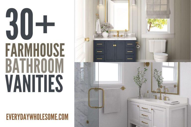 30+ Bathroom Vanities & Remodeling Inspiration