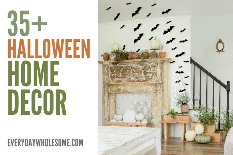35+ Halloween Home Decor