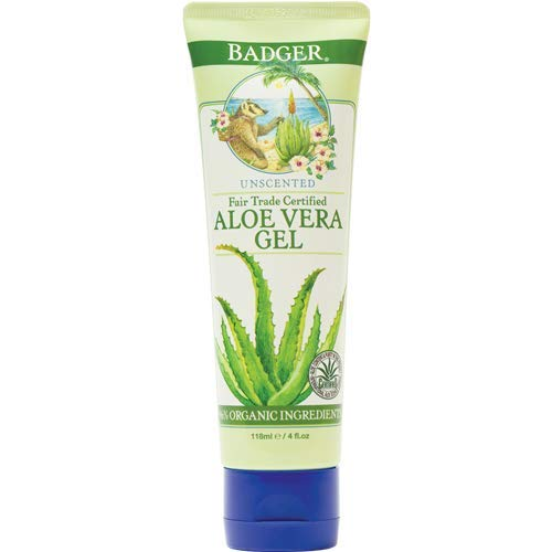 Badger Aloe Vera Gel, Unscented