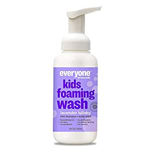 *Everyone Kids Foaming Wash, Lavender Lullaby