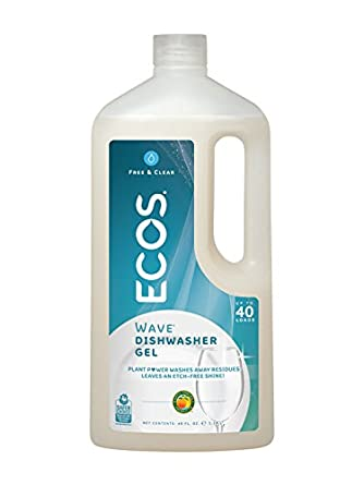 Earth Friendly Products Wave Auto Dishwasher Gel, Free and Clear