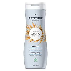 *ATTITUDE Sensitive Skin Shampoo, extra gentle & volumizing, fragrance-free