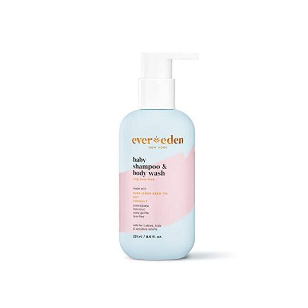 *Evereden Baby Shampoo & Body Wash, Fragrance Free