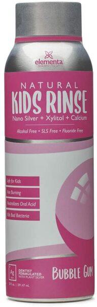 Elementa Kids Rinse Natural, Bubble Gum