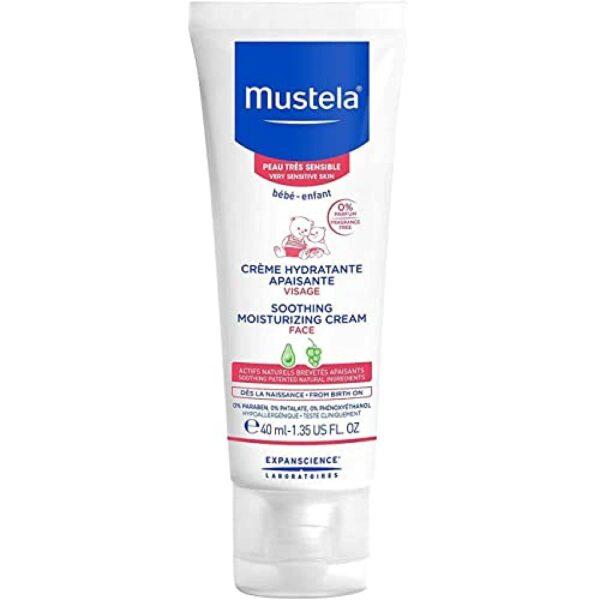 *Mustela Soothing Moisturizing Face Cream, Fragrance Free