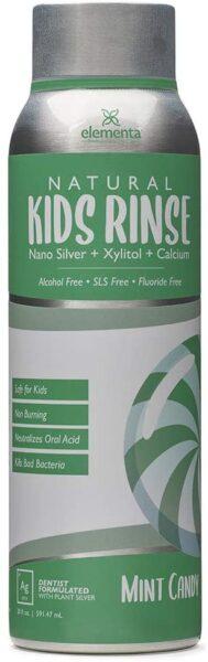 Elementa Natural Kids Rinse, Mint Candy