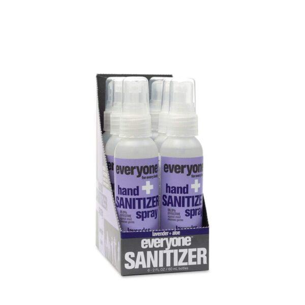 *Everyone Hand Sanitizer Spray Lavender Aloe