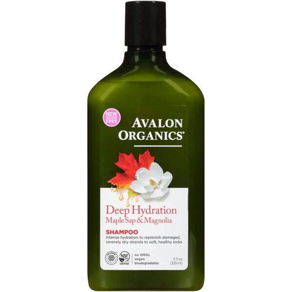 *Avalon Organics Deep Hydration Maple Sap & Magnolia Shampoo