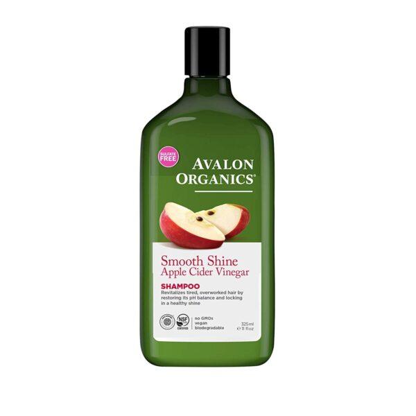 *Avalon Organics Smooth Shine Apple Cider Vinegar Shampoo