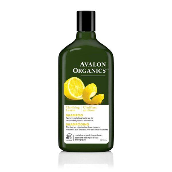 *Avalon Organics Clarifying Lemon Shampoo