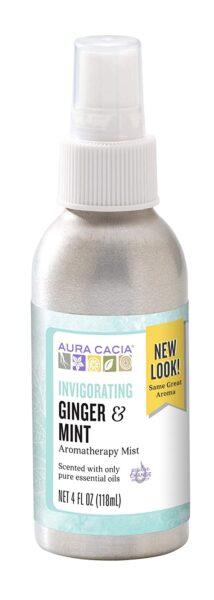 Aura Cacia Aromatherapy Mist, Ginger Mint