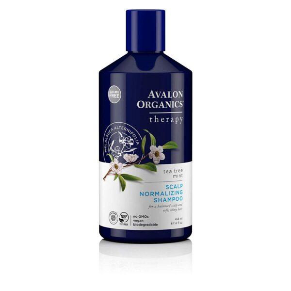 *Avalon Organics Therapy Tea Tree Mint Scalp Normalizing Shampoo