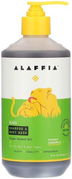Alaffia Shampoo & Body Wash, Coconut Chamomile