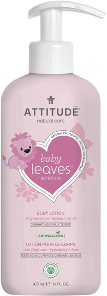 *ATTITUDE baby leaves Body Lotion, fragrance-free