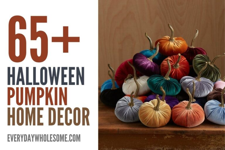 65+ Halloween Pumpkin Decor for your Fall & Autumn Home