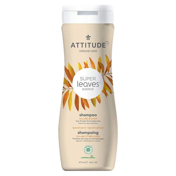 *ATTITUDE Super Leaves Natural Shampoo – Volume & Shine