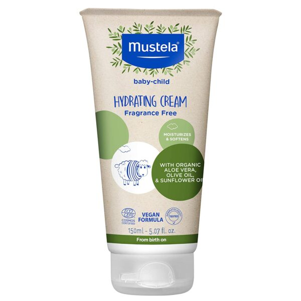 *Mustela Baby-Child Hydrating Cream with Olive Oil and Aloe, Fragrance Free
