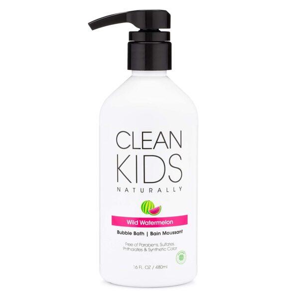 *Clean Kids Naturally Wild Watermelon Bubble Bath