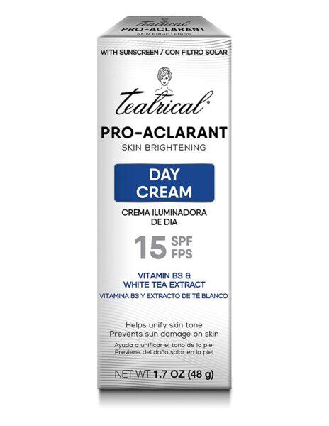 Teatrical Pro Aclarant Skin Brightening Day Cream, SPF 15