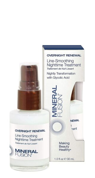 *Mineral Fusion Overnight Renewal Line-smoothing Nighttime Treatment