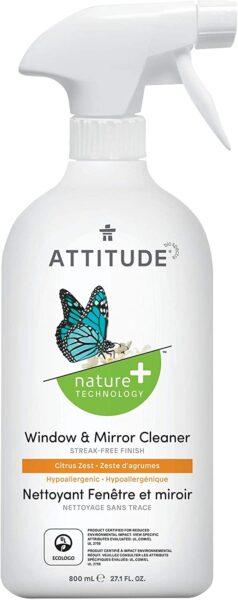 Attitude Sensitive Skin Natural Window & Mirror Cleaner