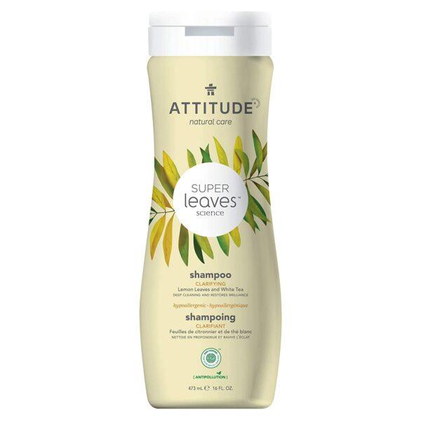 *ATTITUDE Super Leaves Natural Shampoo – Clarifying