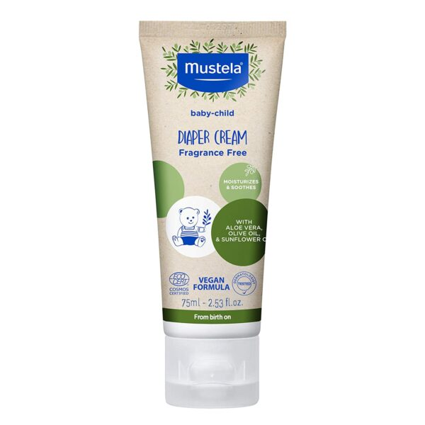 *Mustela Baby-Child Diaper Cream with Olive Oil and Aloe, Fragrance Free