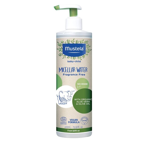 *Mustela Baby-Child Micellar Water with Olive Oil and Aloe, Fragrance Free