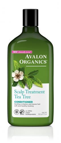 *Avalon Organics Scalp Treatment Tea Tree Conditioner
