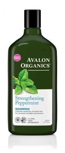 *Avalon Organics Strengthening Peppermint Shampoo