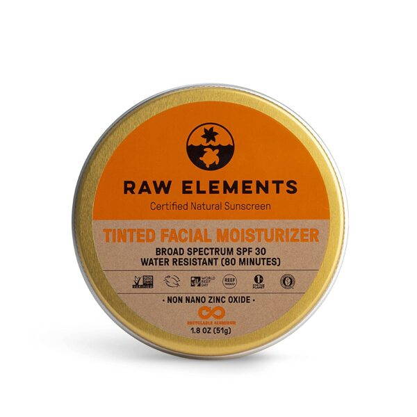 Raw Elements Tinted Facial Moisturizer, SPF 30