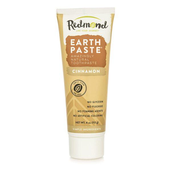 Redmond Earthpaste Amazingly Natural Toothpaste, Cinnamon