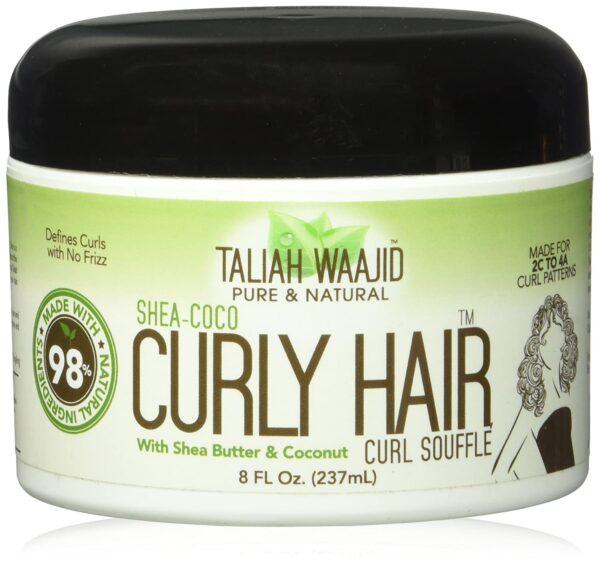 Taliah Waajid Pure & Natural Curly Hair Curl Souffle, Shea Coco