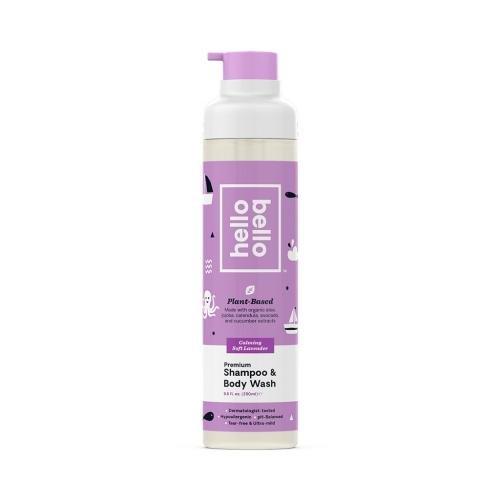 *Hello Bello Premium Shampoo and Body Wash, Calming Soft Lavender