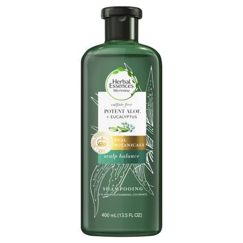 *Herbal Essences Bio:renew Sulfate Free Potent Aloe + Eucalyptus Scalp Balance Shampoo