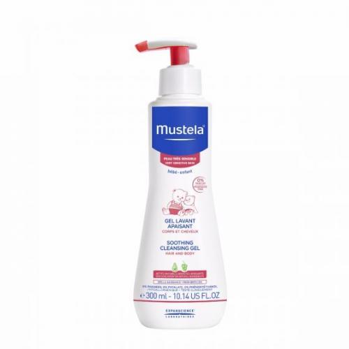 *Mustela Soothing Cleansing Gel, Fragrance Free