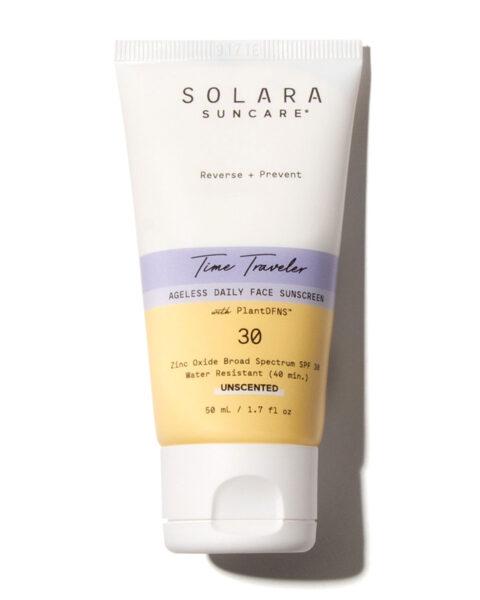*Solara Suncare Time Traveler Ageless Daily Face Sunscreen, Unscented, SPF 30