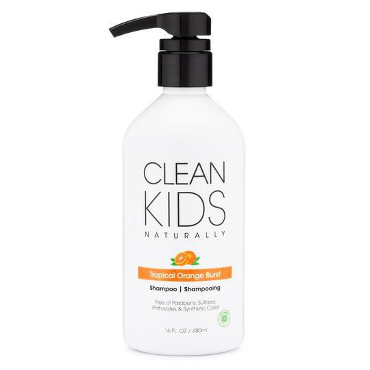 *Clean Kids Naturally Tropical Orange Burst Shampoo